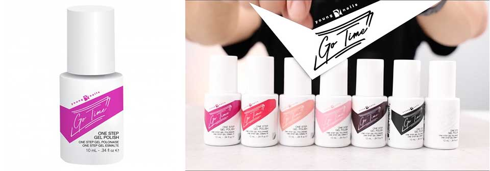 young nails go time gel polish