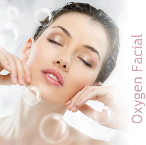Dermaplaning oxygen facial
